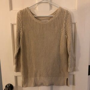 Loft Open-Knit Sweater